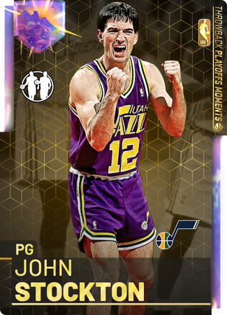 '98 John Stockton opal card