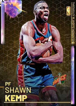'03 Shawn Kemp opal card