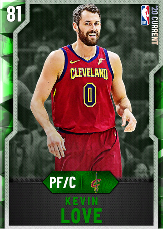 Kevin Love emerald card