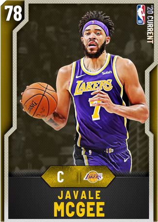 JaVale McGee gold card