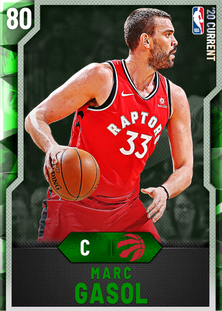 Marc Gasol emerald card