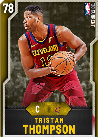 Tristan Thompson gold card