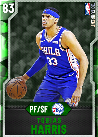 Tobias Harris emerald card