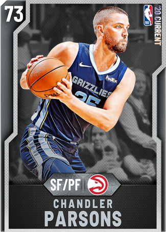 Chandler Parsons silver card