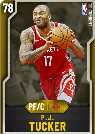 P.J. Tucker gold card