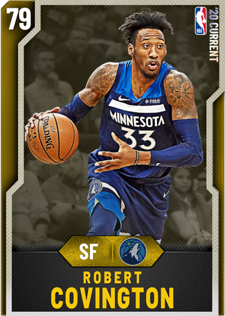 Robert Covington gold card