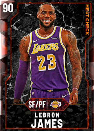 LeBron James fire card