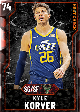 Kyle Korver fire card
