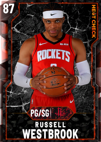 Russell Westbrook fire card