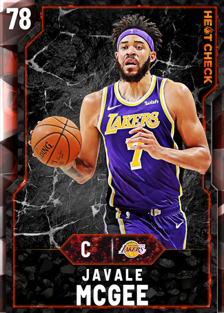 JaVale McGee fire card
