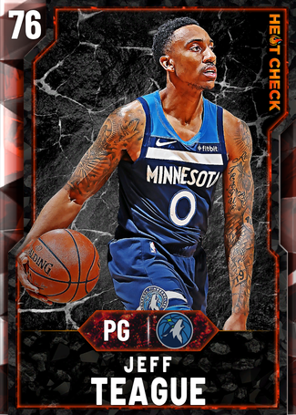 Jeff Teague fire card