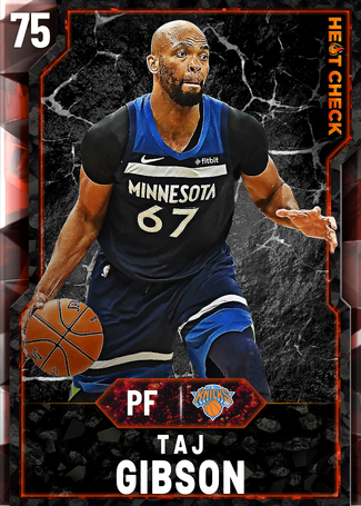 Taj Gibson fire card