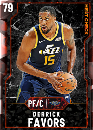 Derrick Favors fire card