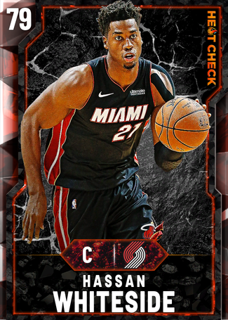 Hassan Whiteside fire card