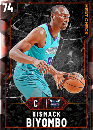Bismack Biyombo fire card