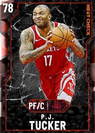 P.J. Tucker fire card