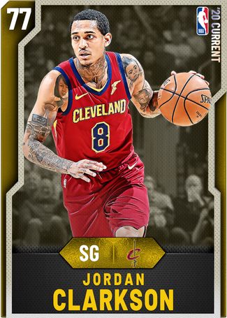Jordan Clarkson gold card
