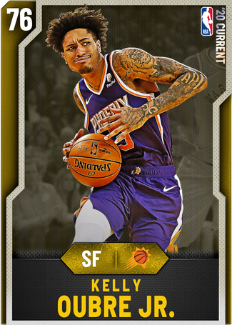 Kelly Oubre Jr. gold card