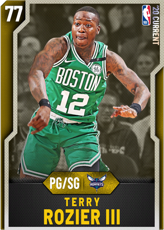 Terry Rozier III gold card