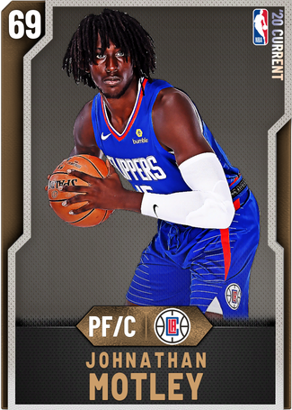 Johnathan Motley bronze card