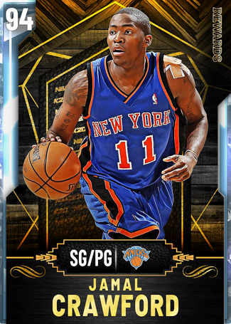 Jamal Crawford diamond card