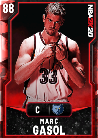 Marc Gasol ruby card