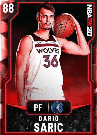Dario Saric ruby card