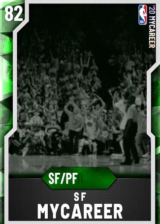 SF MyCareer emerald card