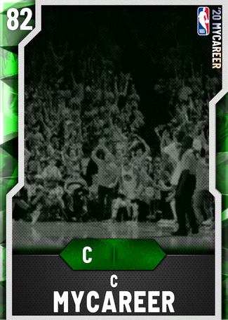 C MyCareer emerald card