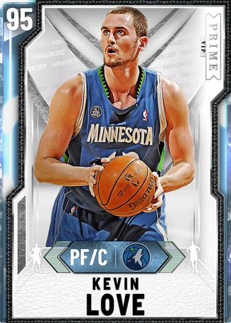 Kevin Love diamond card