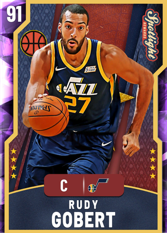 Rudy Gobert amethyst card