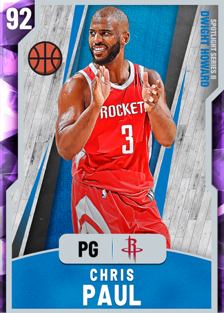 Chris Paul amethyst card