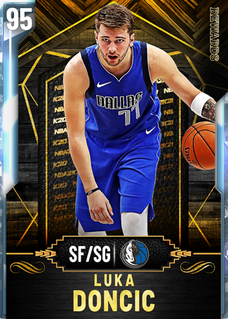 Luka Doncic diamond card