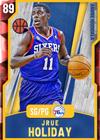 '12 Jrue Holiday ruby card