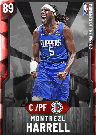 Montrezl Harrell ruby card