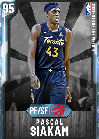 Pascal Siakam diamond card