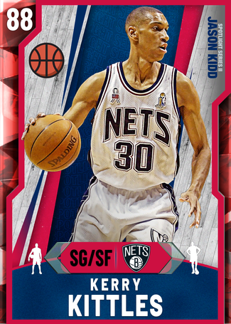 '02 Kerry Kittles ruby card