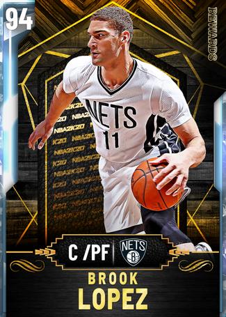 Brook Lopez diamond card