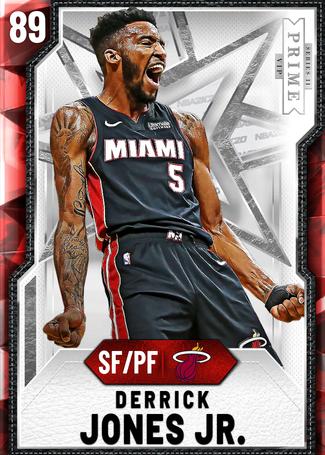 Derrick Jones Jr. ruby card