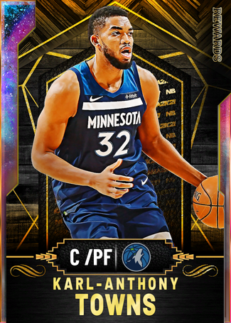 Karl-Anthony Towns opal card