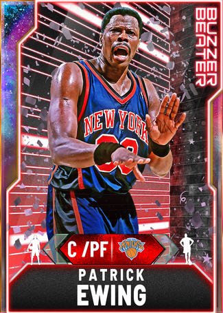 '92 Patrick Ewing opal card