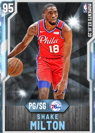 Shake Milton diamond card