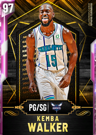 Kemba Walker pinkdiamond card
