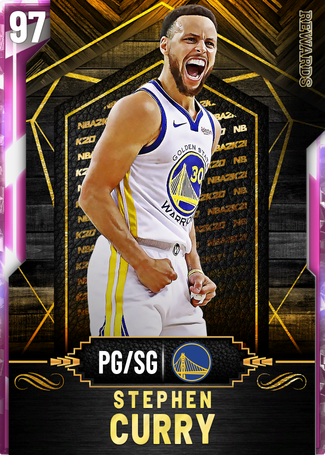 '16 Stephen Curry pinkdiamond card