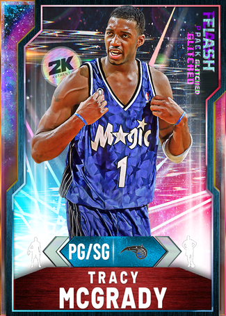 '12 Tracy McGrady opal card