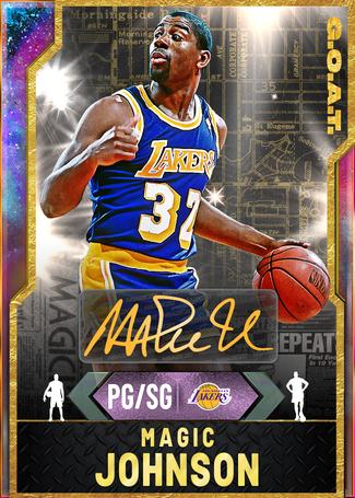 '91 Magic Johnson opal card