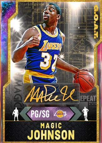 '91 Magic Johnson opal card