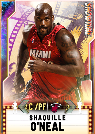 '11 Shaquille O'Neal opal card