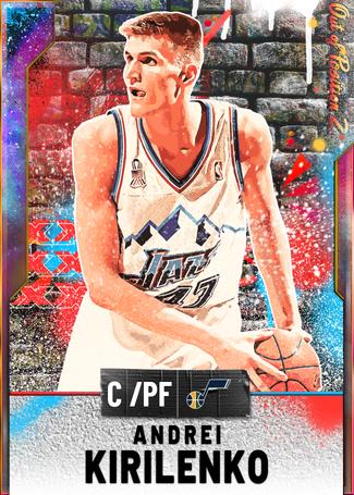 '15 Andrei Kirilenko opal card