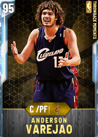 '08 Anderson Varejao diamond card